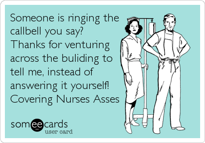 Someone is ringing the