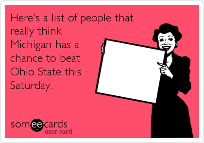 Here's a list of people that