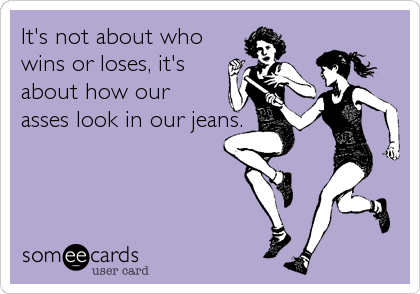It's not about who 