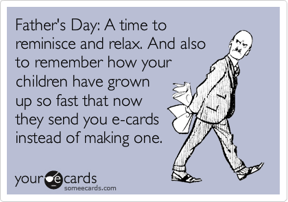 Father's Day: A time to