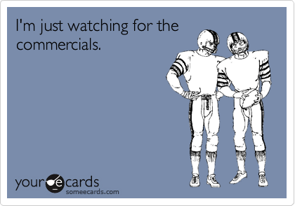 I'm just watching for the