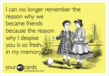 I can no longer remember the reason why we
