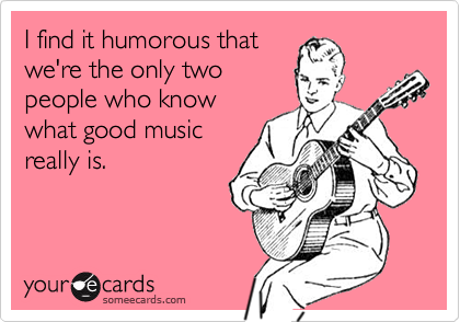 I find it humorous that