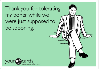 Thank you for tolerating