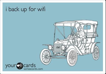 i back up for wifi
