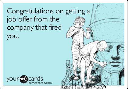 getting job offer