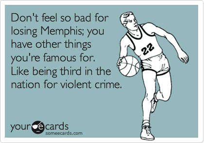 Don't feel so bad for