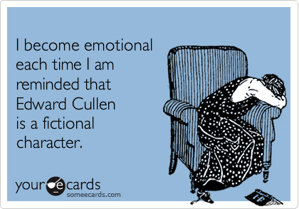 I become emotional