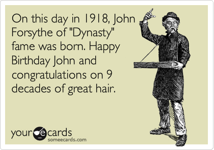 On this day in 1918, John