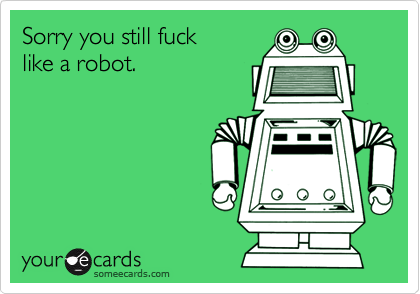 Sorry you still fuck