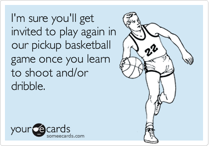 I'm sure you'll get