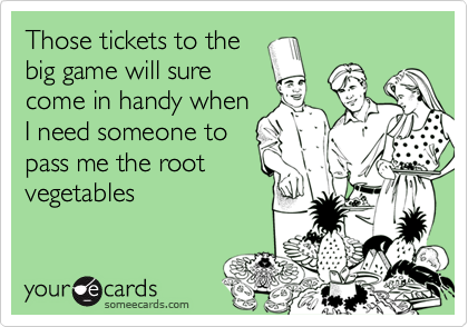 Those tickets to the