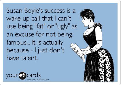 Susan Boyle's success is a