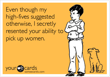 Even though my