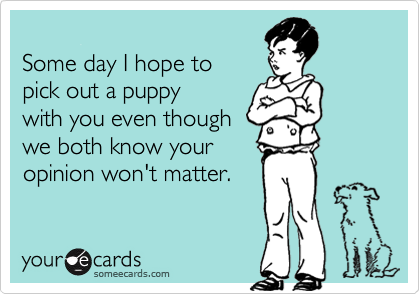 Some day I hope to