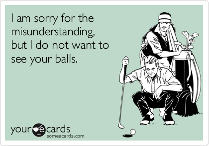 I am sorry for the 