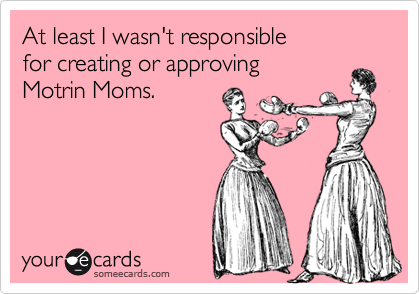 At least I wasn't responsible 