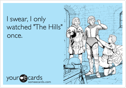 I swear, I only 