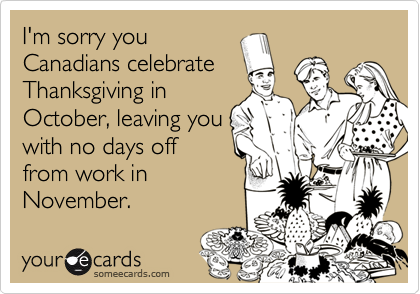 I'm sorry you