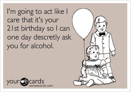 I'm going to act like I