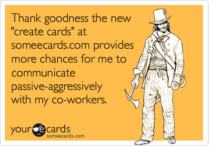 Thank goodness the new