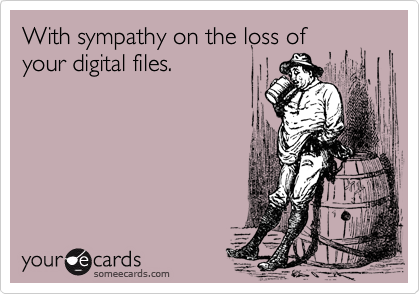 With sympathy on the loss of