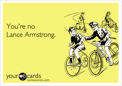 You're no