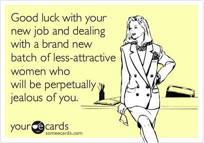Good luck with your