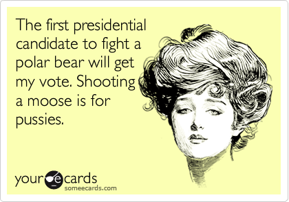 The first presidential