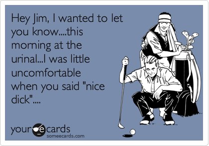 Hey Jim, I wanted to let 