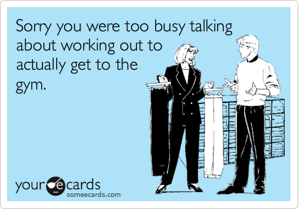 Sorry you were too busy talking
