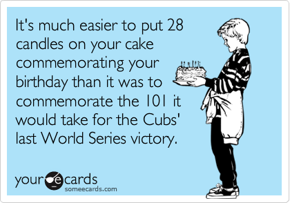 It's much easier to put 28
