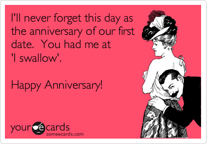 First date anniversary