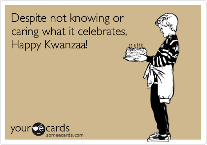 Despite not knowing or