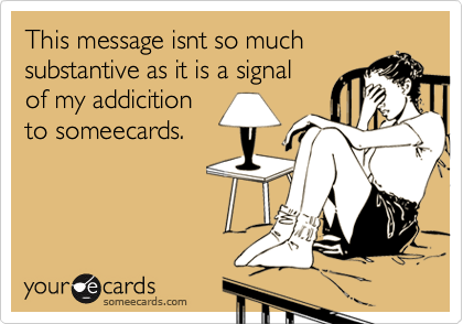 This message isnt so much