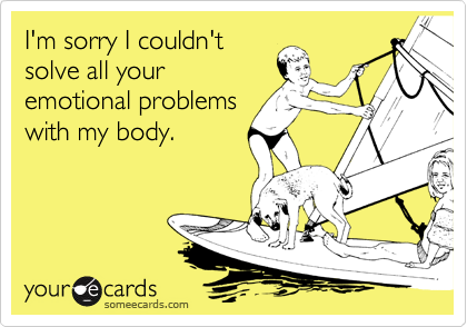 I'm sorry I couldn't