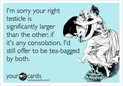 I'm sorry your right