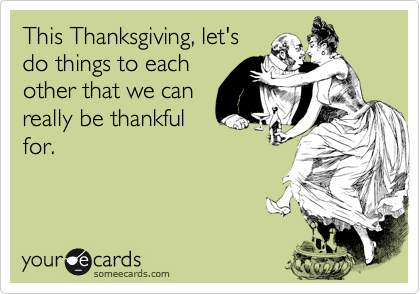 This Thanksgiving, let's