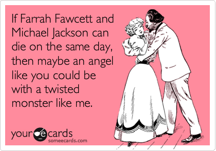 If Farrah Fawcett and