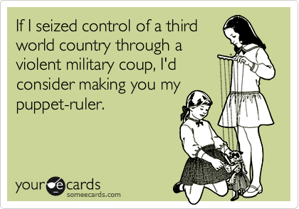 If I seized control of a third