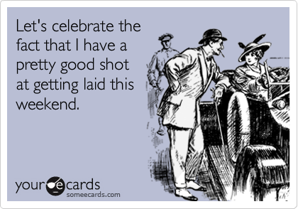 Let's celebrate the