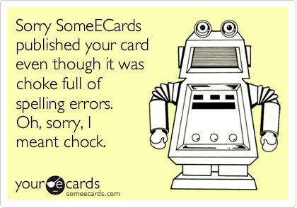 Sorry SomeECards