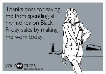 Thanks boss for saving