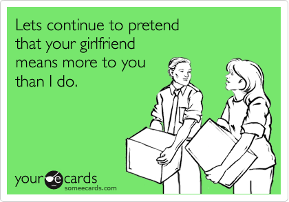 Lets continue to pretend 