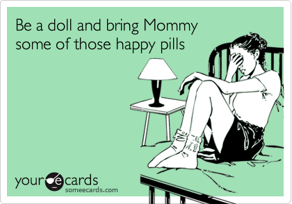 Be a doll and bring Mommy