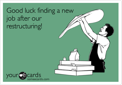 Good luck finding a new