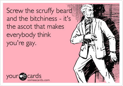 Screw the scruffy beard