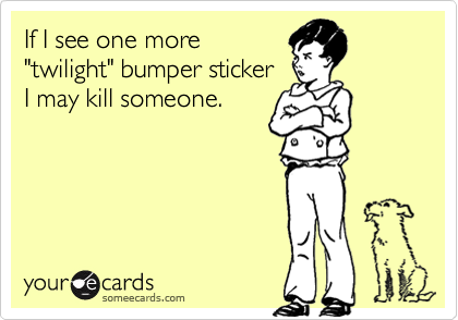 If I see one more