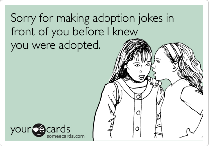 Image result for adoption someecards