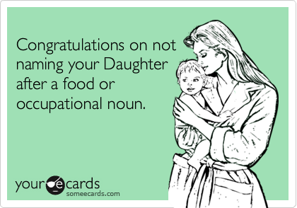 Congratulations on not